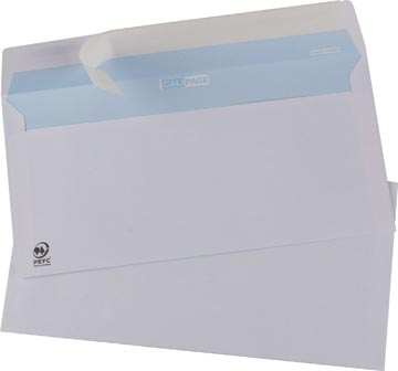 Calipage enveloppen ft 110 x 220 mm strip, doos van 500 stuks
