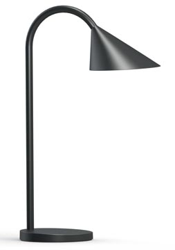 Unilux bureaulamp Sol, LED-lamp, zwart