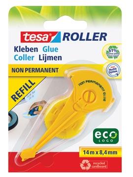 Tesa Roller navulling lijmroller niet-permanent ecoLogo, op blister