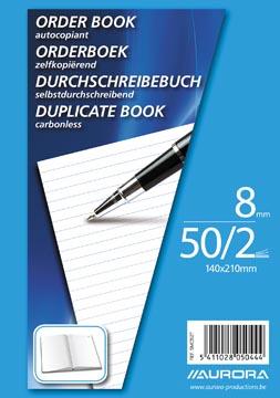Aurora orderbook, ft A5, 2 x 50 vel
