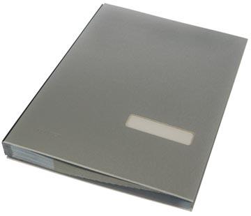 Class'ex handtekenmap zilver