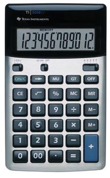 Texas bureaurekenmachine TI-5018SV