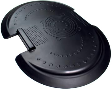 AFS-TEX antivermoeidheidsmat met ergonomische print, met anti-microbieel middel, ft 66 x 90 cm