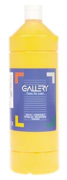 Gallery plakkaatverf, flacon van 1 l, donkergeel