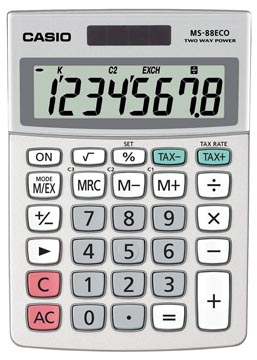 Casio bureaurekenmachine MS-88 ECO