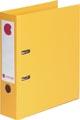 Calipage classeur, pour ft A4, complète en PP, dos de 8 cm, jaune